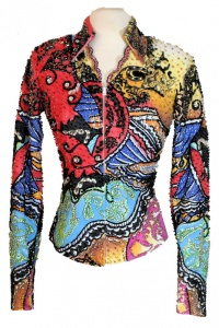 Showtime Coral and Seabreeze Brights Jacket